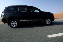 Armoured Toyota Prado