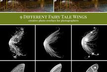 How to photoshop Fairy wings...