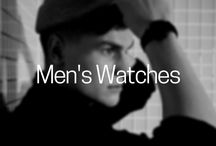 Mens Watches / Timeless and simple designs for the modern gentleman.