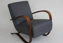 Arm chairs - Halabala, art deco... I want them all