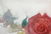 Watercolor / Saye Amebane