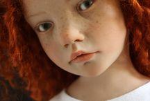 Laurence Ruet - roodharig meisje met sproeten