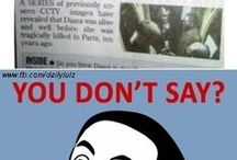 U don't say