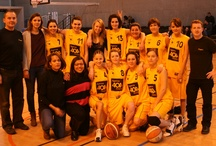 ESCSF Nantes basket / Du jaune qui court et du orange qui rebondi