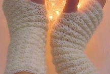 Crochet Headbands and HandWarmers