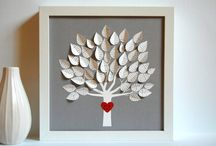 Decorating with recycled books / by Katherine Nabors