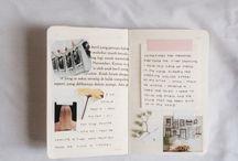 journal. / journals, midori, hobonichi, planners