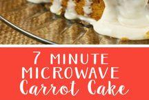 Microwave Cakes