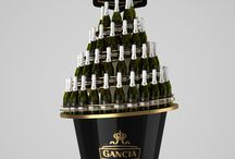 Wonderful Wine, Champ & Cognac Displays