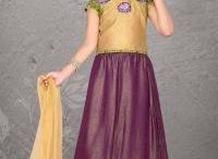 Girls Lehenga Choli / Nihal Fashions have a great range of girl's lehengas coli. Our exquisite collection of Indian dresses for girls ranging from various colors, styles, designs, fabrics and embellishment to dress up your angels.