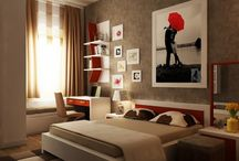 HOMES - BEDROOMS / Decor, design, products, etc. / by Joanne Anderson