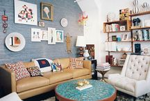 Living Room: couches
