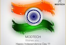 HAPPY INDEPENDENCE DAY!!! / Modtech wishes a very Happy Independence day to you All !  Let us celebrate & enjoy the freedom to live independently in our country Cheerfully & Peacefully by remembering our National Heroes who gave us Freedom after suffering pain.  HAPPY INDEPENDENCE DAY !!