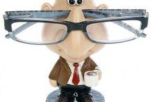 novelty glasses holders