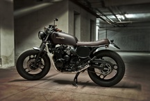 #Motorecyclos Dark Jap / #custom #motorcycles #Motorecyclos #bikes Jap Rat #scrambler #caferacer based on #yamaha xj 600