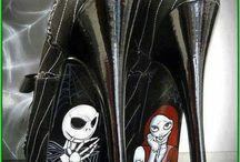 Harley quinn ish sko