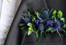 Men's selection / Buttonholes and other wearables for the grooms party