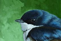 36- Birds / by Katayoon Moghaddam- Soroush