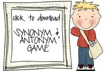 SLP-Synonyms&Antonyms / by Tracy Hargesheimer