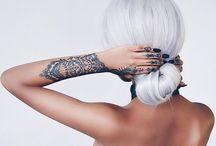 • I N K • / //paintings on her skin//