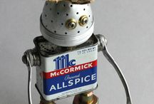 Toy robots / Minirobots with maxpower.