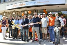 Paul Kaplan Group Ribbon Cutting 2015 / Highlights from our Grand Opening Ribbon Cutting Ceremony with the City of Palm Springs at our new offices, located at 1117 N Palm Canyon Dr., Palm Springs CA