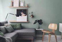 Bedroom inspiration greys