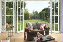 Bifolding doors are becoming a very popular / Bifolding doors are becoming a very popular upgrade for new conservatories bi-fold door allows the panels to fold on themselves without changing the orientation of the suspended casters or rollers.