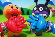 アンパンマンおもちゃアニメ❤バイキンマンとジャンけん勝負だ! Anpanman toys