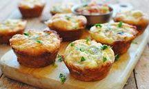 Tavuklu muffin