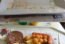 Défi Flunch / Défi : Manger équilibré au Flunch. Il faut manger un peu de chaque plat de légume. Sans exception.  Et vous, y parviendrez vous? https://www.defight.com/defi/53a42222dec6ec204e785530