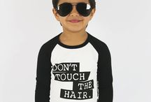 Baby & Kids Tops / Baby & Kids unisex hip tees and muscle tees in sizes 000 (0-3mths) to 8 by Oovy.com.au