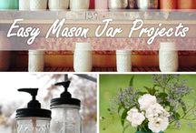 MASON JAR PROJECTS -  / DIY