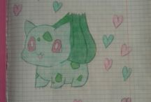 My Drawings / Drawing is my passion. I love draw pokemon and pokemon trainers♥