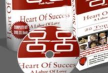 HEART OF SUCCESS BOOK & media series  / by Joyce Schwarz