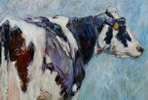 cow paintings / cow paintings, illustrations and other cow art.