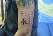Chinese Letters Tattoos / http://www.tattoosideas.co.uk/chinese-letters-pictures.html