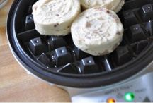 Recipes -- Using Waffle Iron
