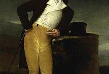 men's portraits 1800-1810