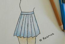 KosMos / My own drawings.
