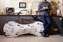 Velo Sock bicycle covers / The most effective way to keep your room clean after returning home from journey with bicycle.