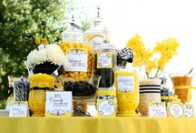 Wedding Party with Marigold & Sunshine Yellow Accents