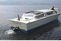 Taxi boat service / Motoscafi veloci.  Servizio pubblico.