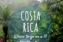 We goin to Costa Rica aarriba! / Our trip to Costa Rica