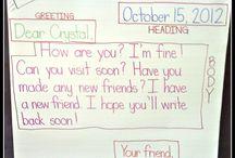 Language Letter Writing
