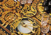 Table setting  Versace