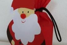 Envoltorios y tarjetas de Navidad / Envoltorios para navidad, detalles para presentar regalos, tarjetas para saludar y para personalizar regalos