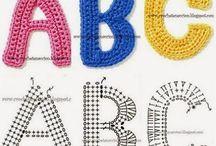 Tığ işleri alfabe