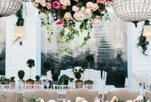 floral chandelier style