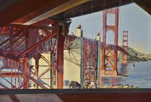 Urban Paintings / A collection of paintings by April Raber depicting the urban landscape.